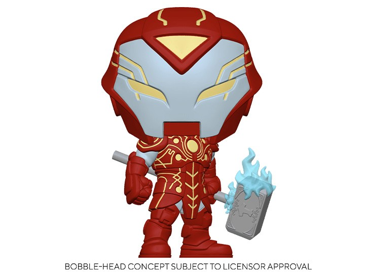 Funko Pop! Iron Hammer: Infinity Warps Glow In The Dark - Funko Fair -  Funko