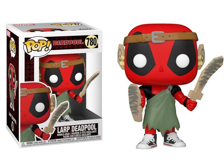 PRÉ VENDA: Funko Pop!: LARP Nerd Deadpool 30th Anniversary - Aniversario de 30 Anos Marvel Funko Fair #780 -  Funko