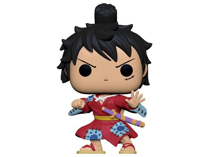 Funko Pop! Luffy in a Kimono: One Piece Edição Especial Funko Fair - Anime Manga Funko