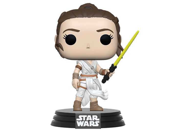 Funko Pop! Star Wars: A Ascensão Skywalker - Rey Skywalker com Sabre Amarelo - Funko