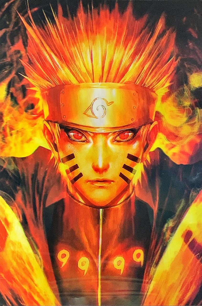 Quadro 3D Lenticular: Naruto (43x30)