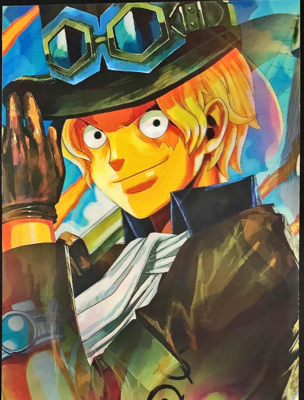 Poster (Quadro) 3D Lenticular (Sem Moldura) One-Piece (43x30)