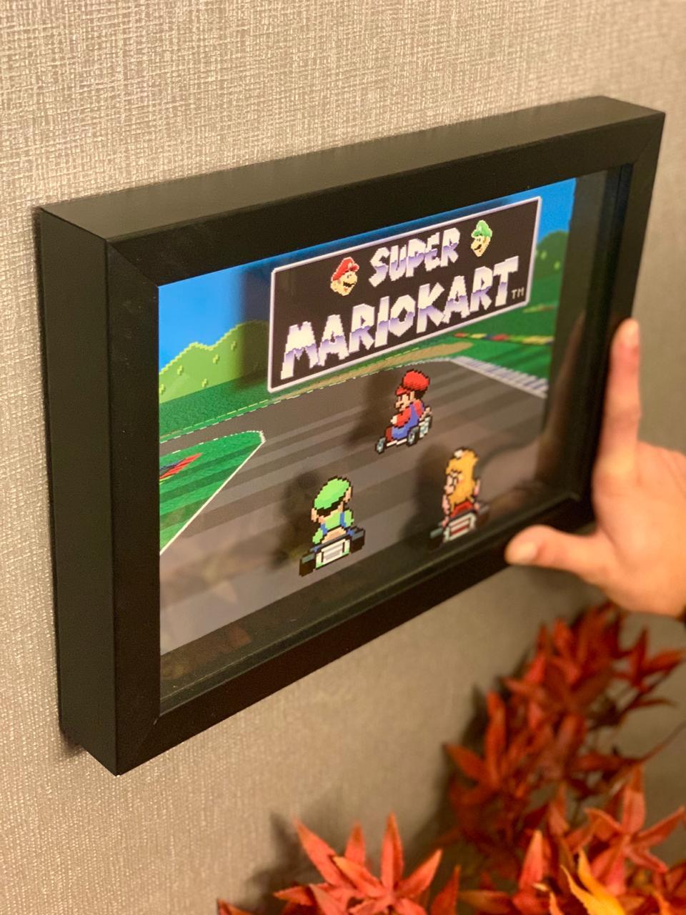 Quadro 3D : Super MarioKart