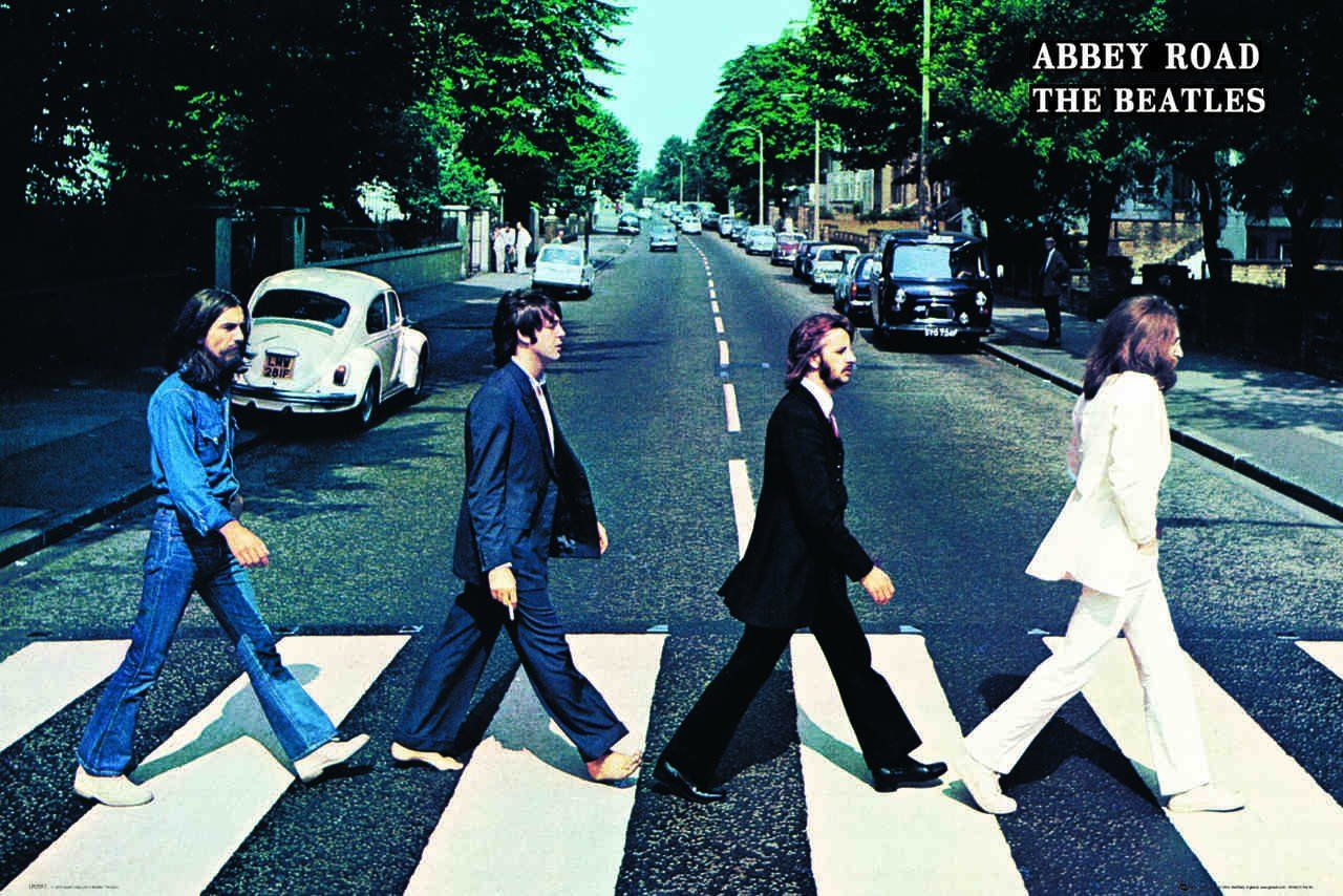 Quadro Abbey Road: The Beatles - Wall Street Poste