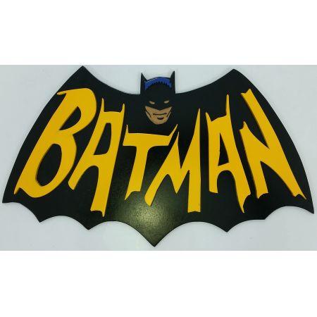 Quadro Batman Logo 60's - Geton