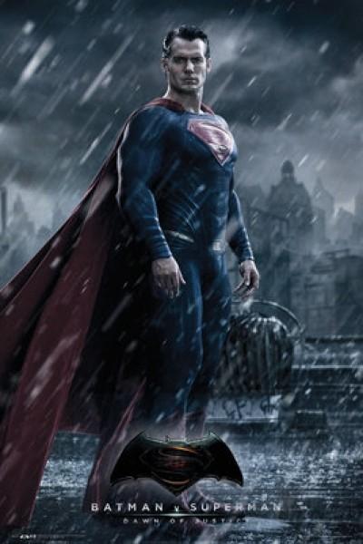 Quadro Batman v Superman Dawn of Justice - Wall Street Posters