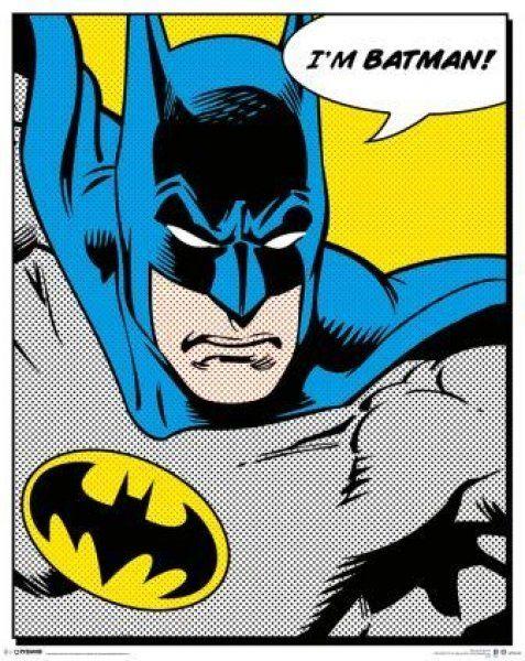 Quadro Batman - Wall Street Posters