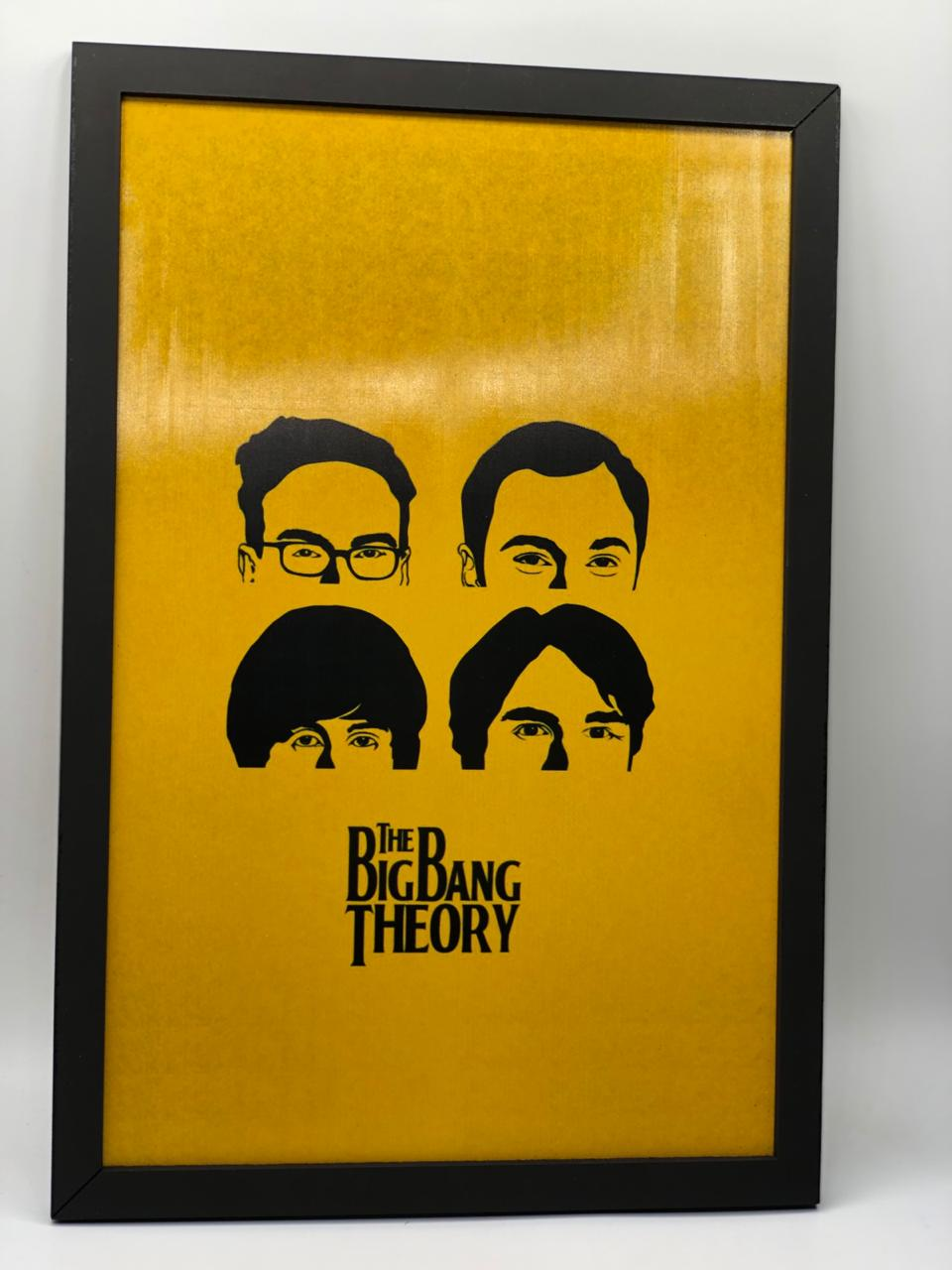 Quadro Big Bang: A Teoria The Big Bang Theory - 34x23