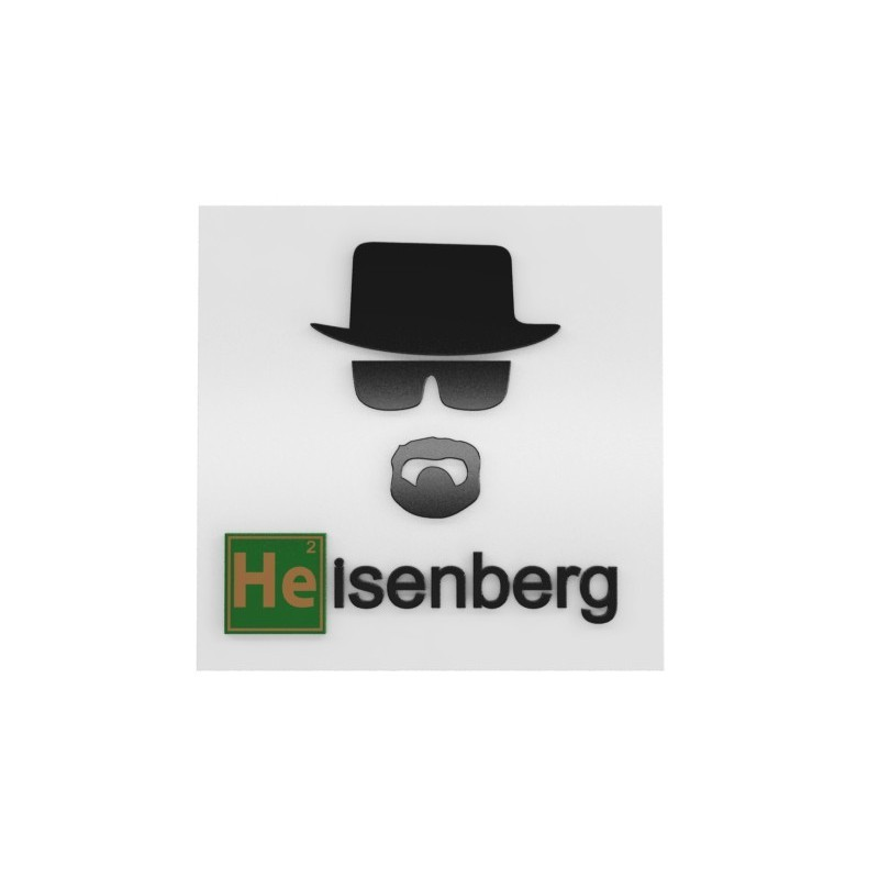 Quadro Breaking Bad: Heisenberg - Geton