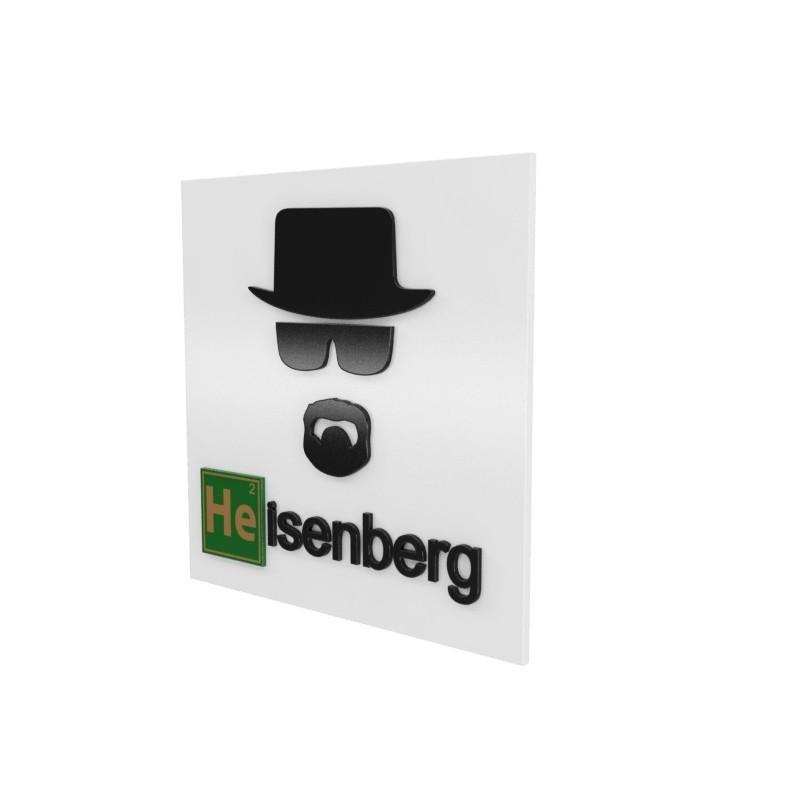 Quadro Breaking Bad: Heisenberg - Geton