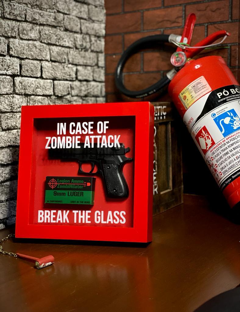 Quadro Caixa de Emergência