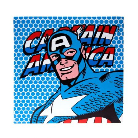 Quadro Canvas Capitain America - Marvel