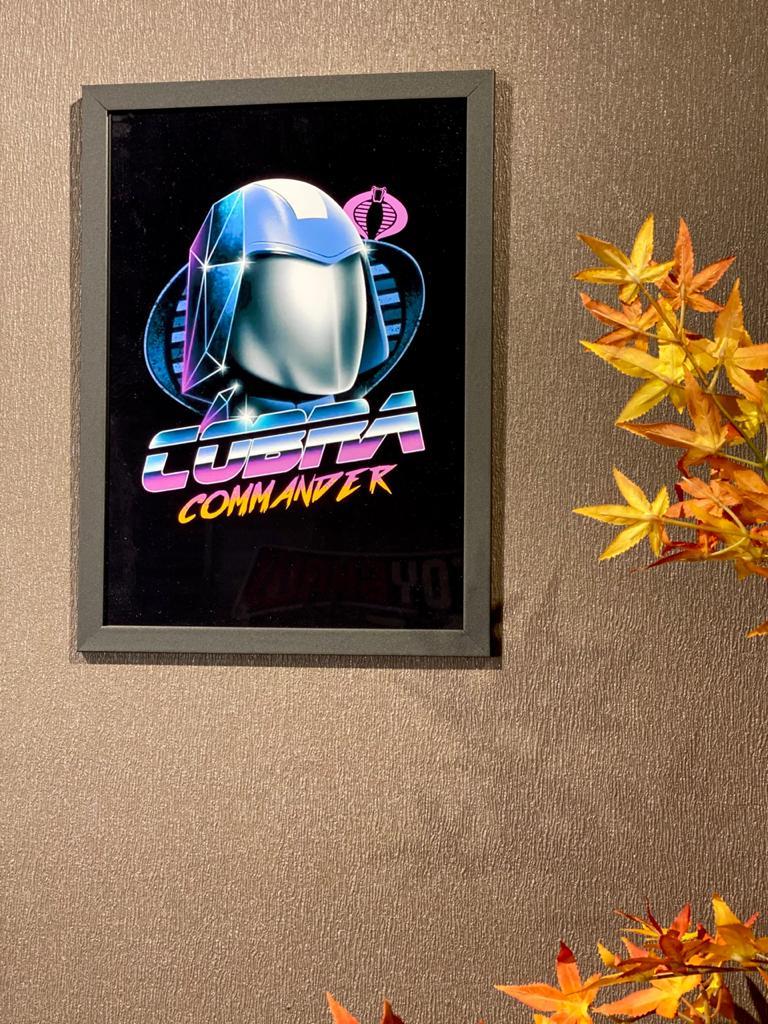 Quadro Cobra Commander: G.I Joe