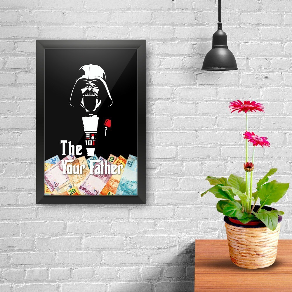 Quadro Cofre 3D The Your Father: Star Wars