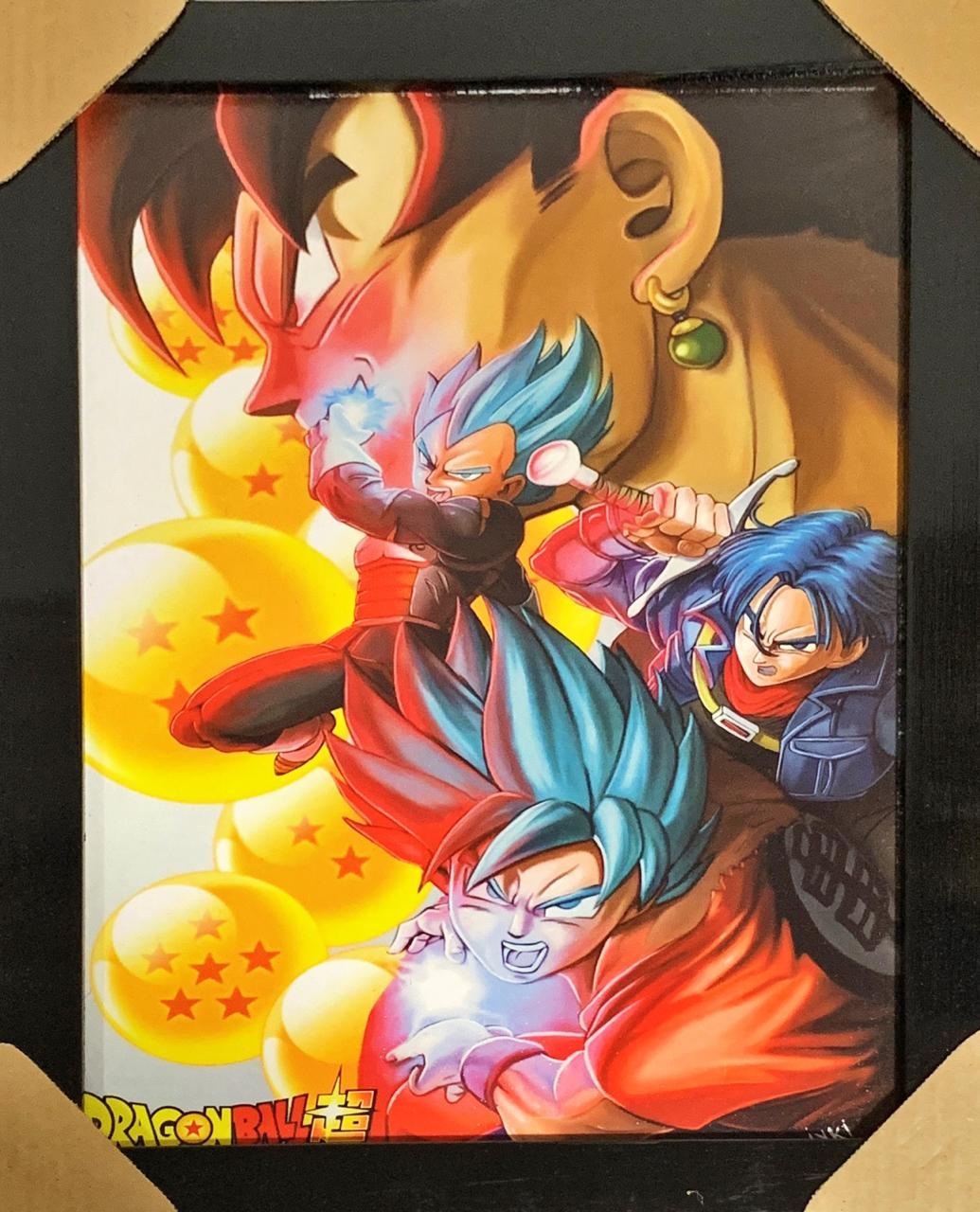 Quadro com Moldura As Esferas do Dragão: Dragon Ball Z