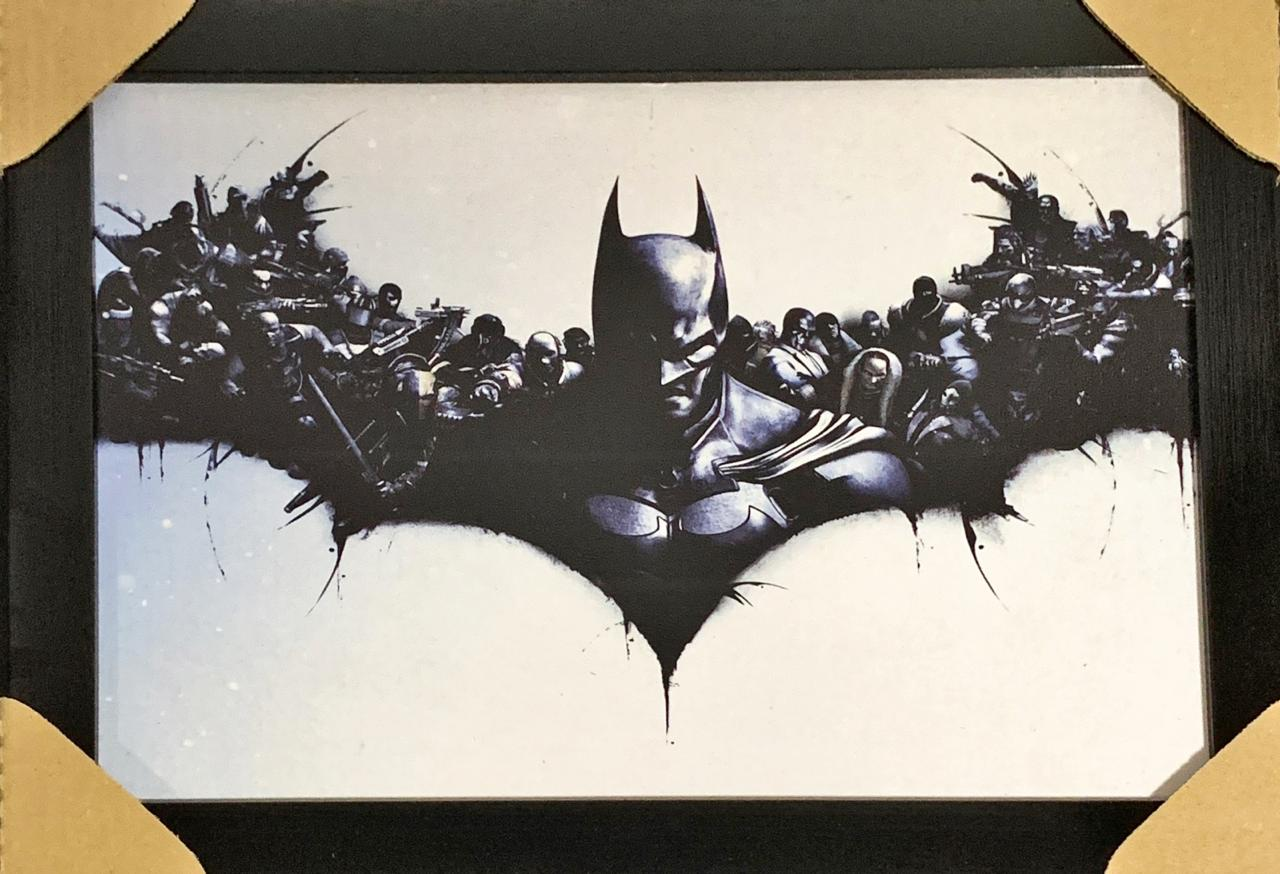 Quadro com Moldura Batman: Arkham Origins