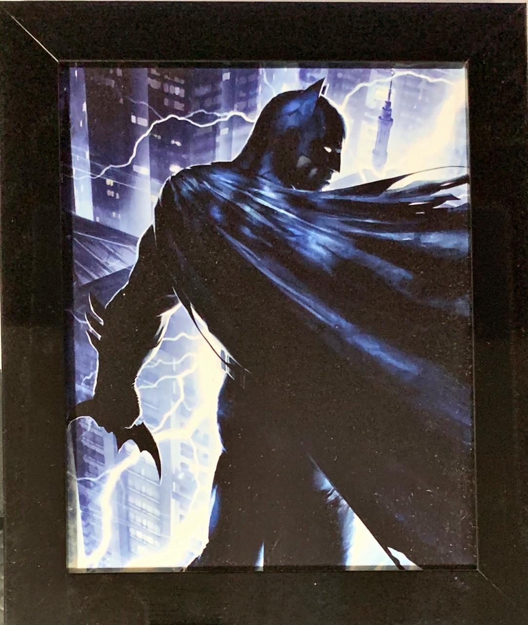 Quadro com Moldura Batman: DC Comics (24x29)