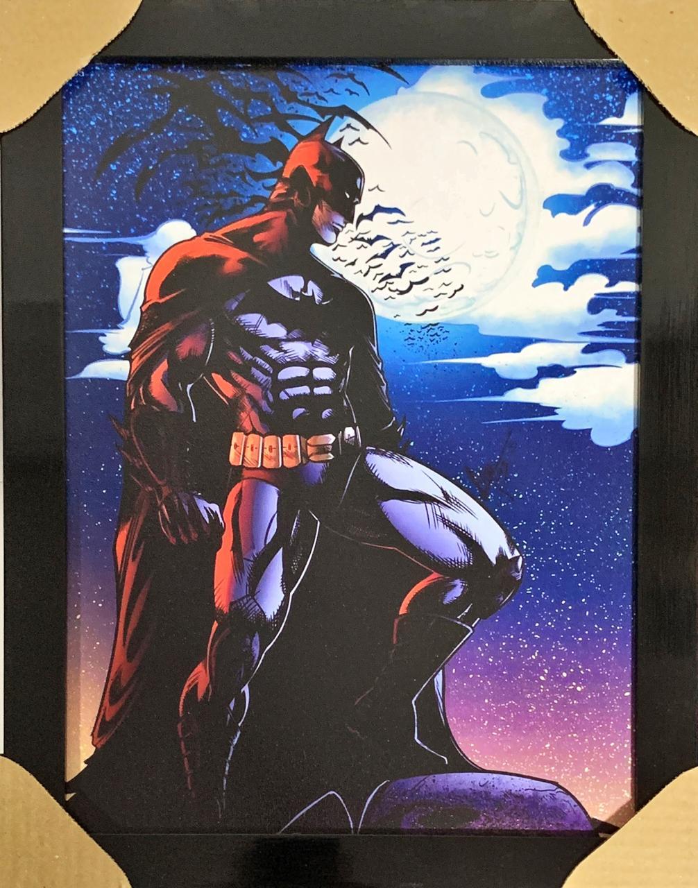 Quadro com Moldura Batman: Dc Comics