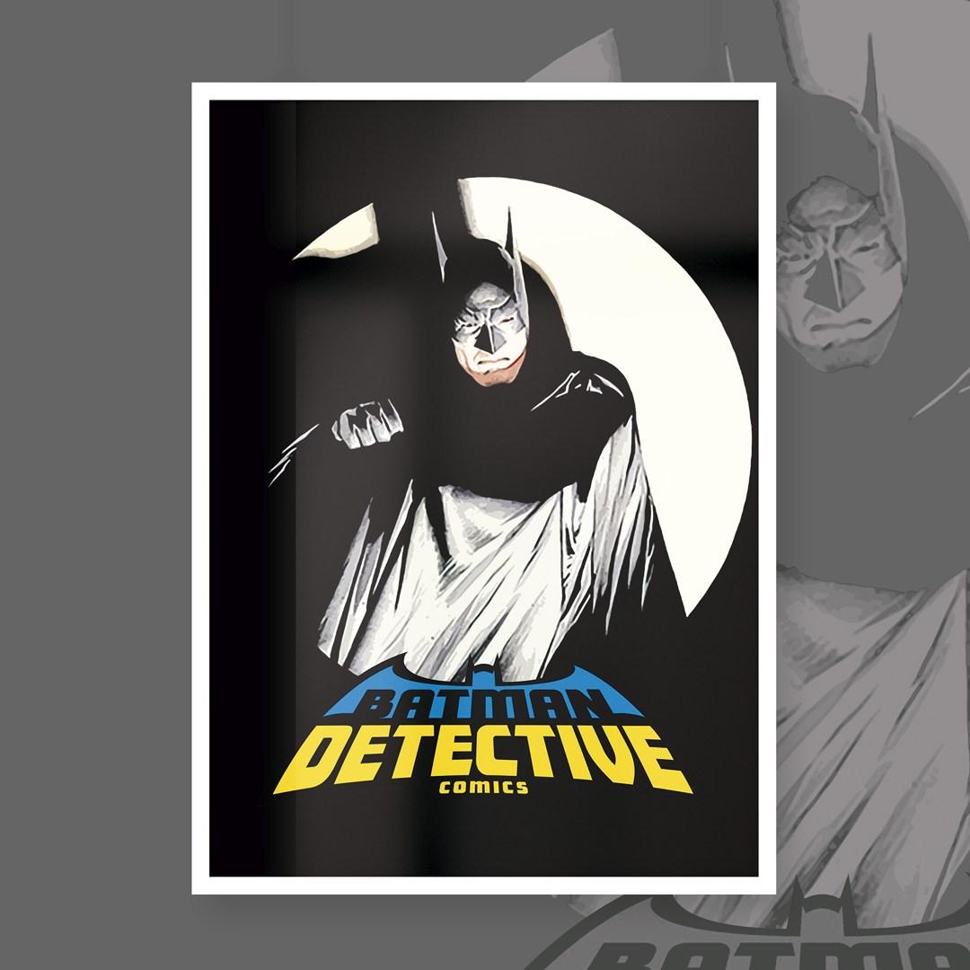 Quadro Com Moldura: Batman Detective - 46x33