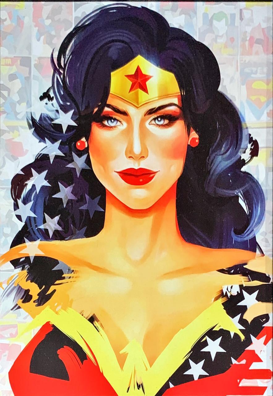 Quadro com Moldura Mulher-Maravilha (Wonder Woman): DC Comics