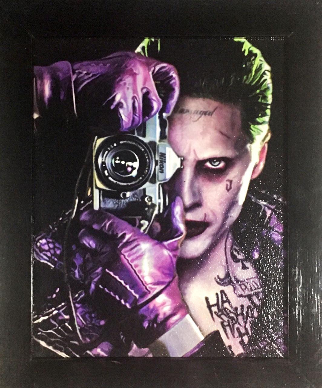 Quadro com Moldura: Coringa (Joker) - DC Comics - 24x29