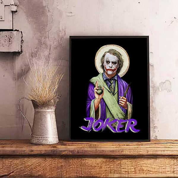 Quadro Com Moldura God Joker: Coringa - EV