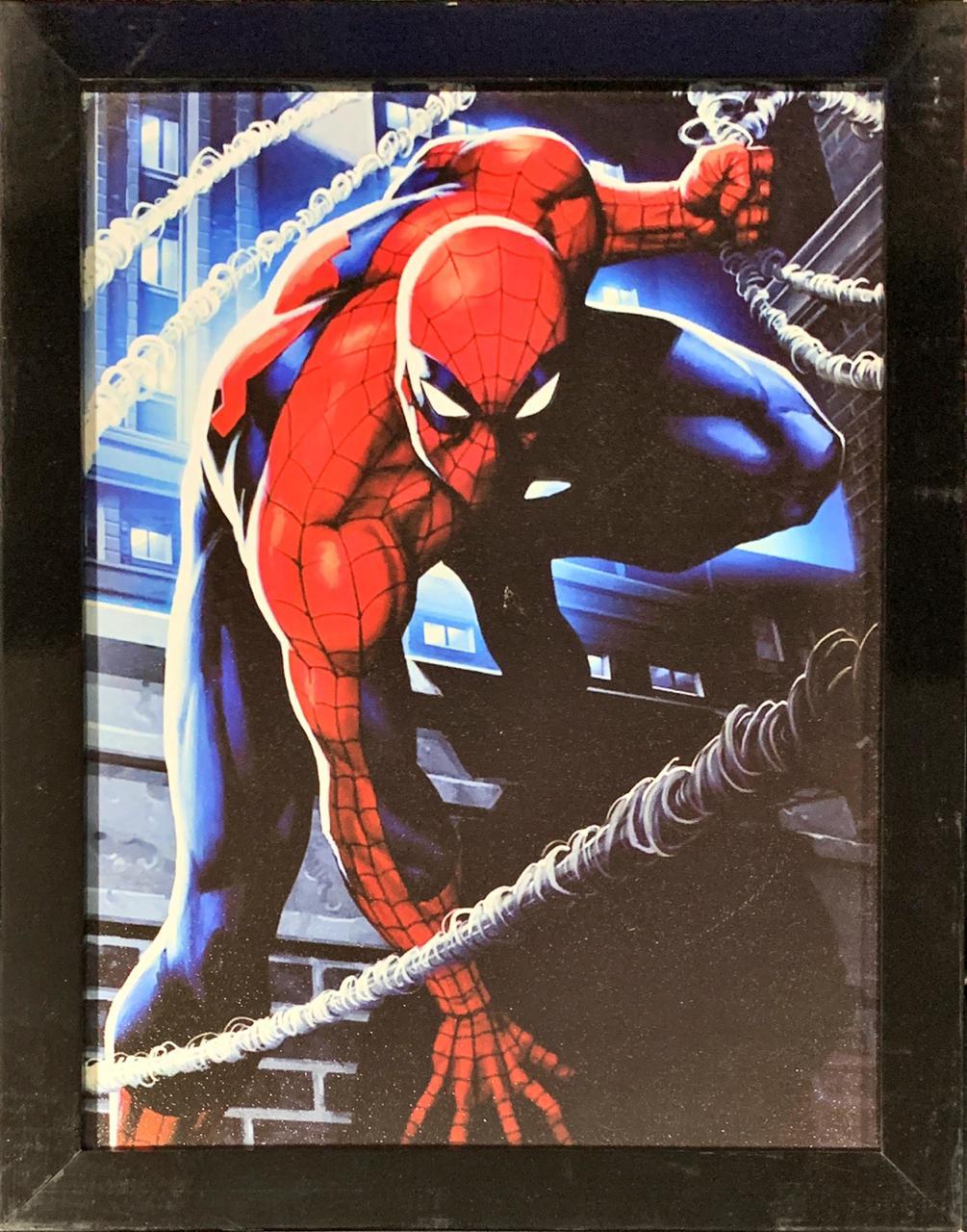 Quadro com Moldura  Homen-Aranha (Spider-Man): Marvel Comics
