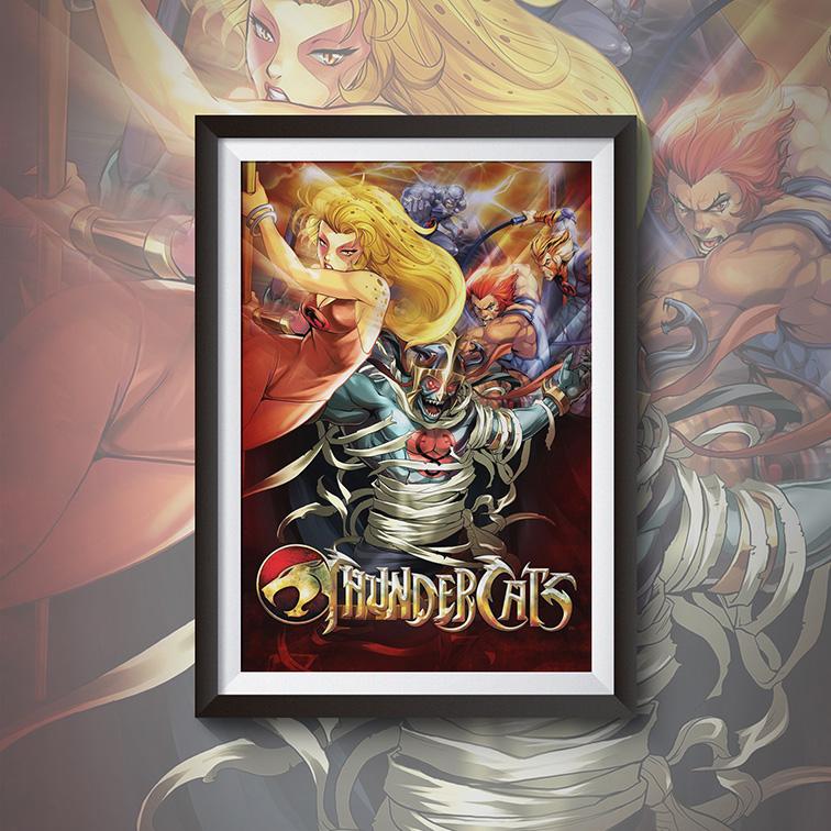 Quadro Com Moldura Masters Of The Universe: Thundercats - 46x33 - EV