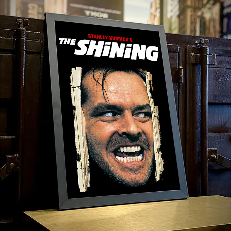 Quadro Com Moldura O Iluminado The Shining Stanley Kubrick's - 33x46 - EV