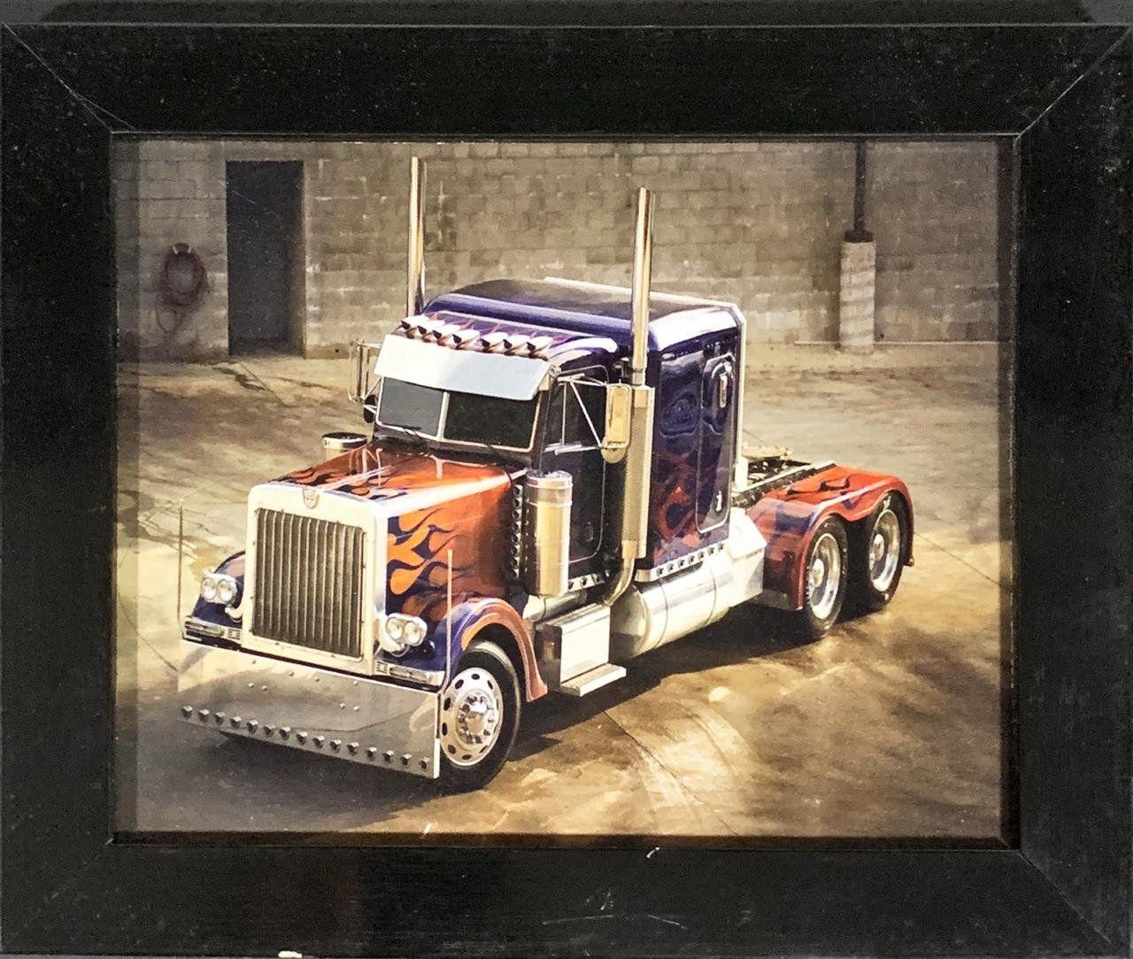 Quadro com Moldura Optimus Prime: Transformers - (24x29)