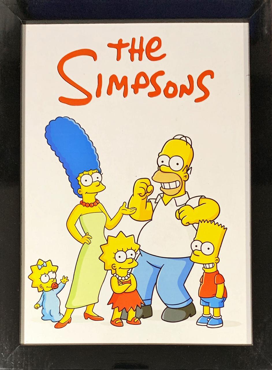 Quadro com Moldura Os Simpsons (The Simpsons)