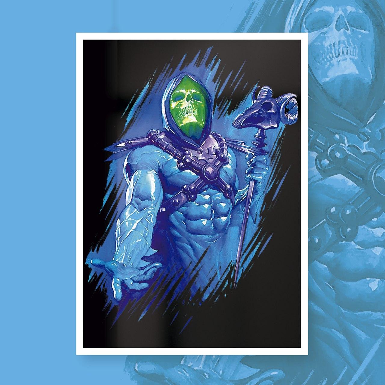 Quadro Com Moldura: Skeletor (Master Of The Universe) - 46x33