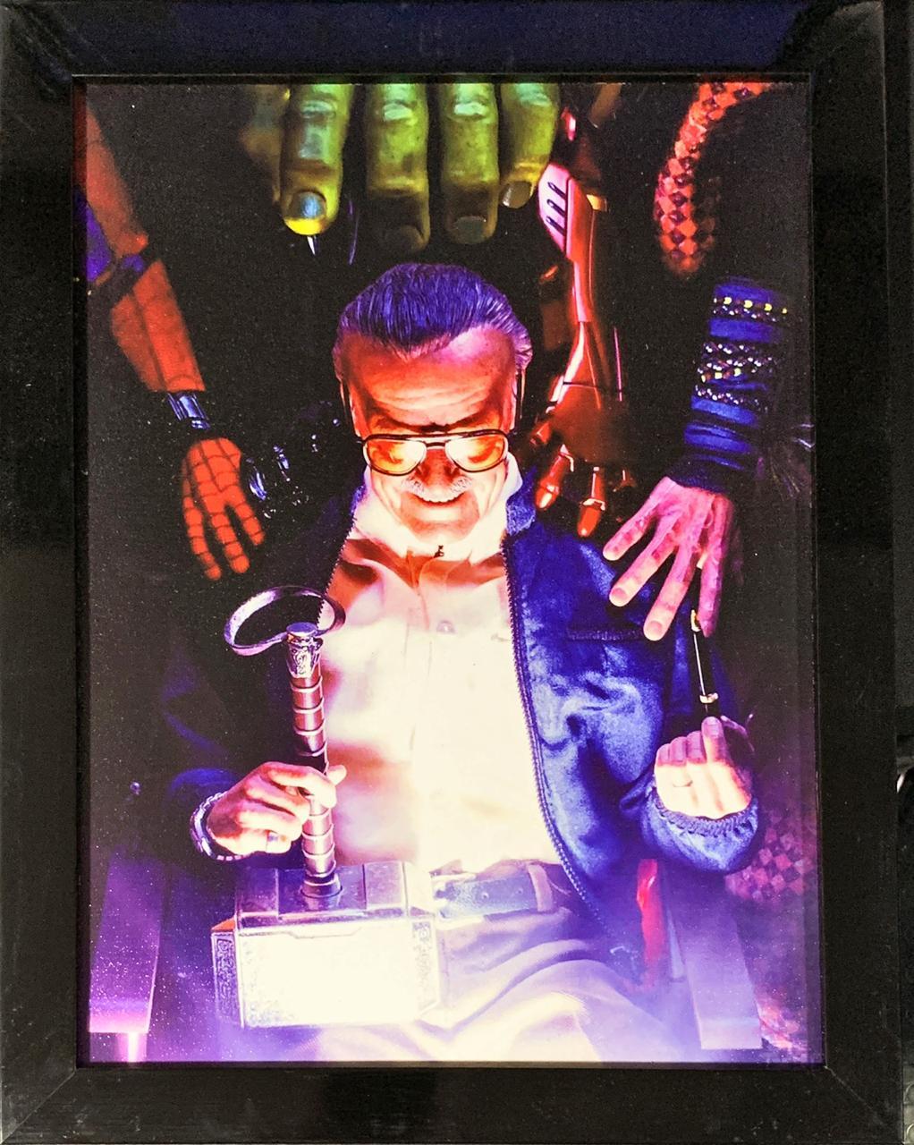 Quadro com Moldura Stan Lee: Vingadores (Avengers) 46x33