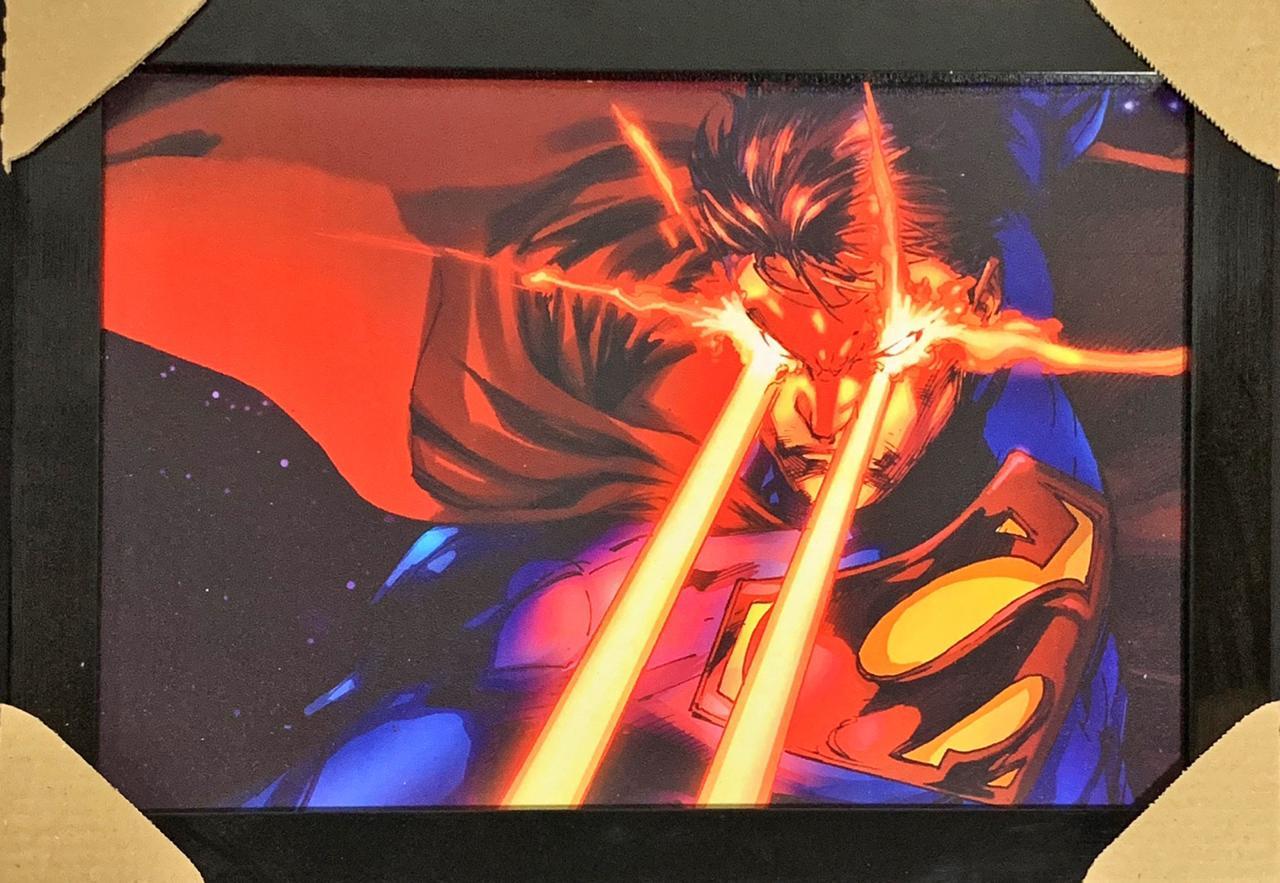 Quadro com Moldura Super-Homem: Dc Comics