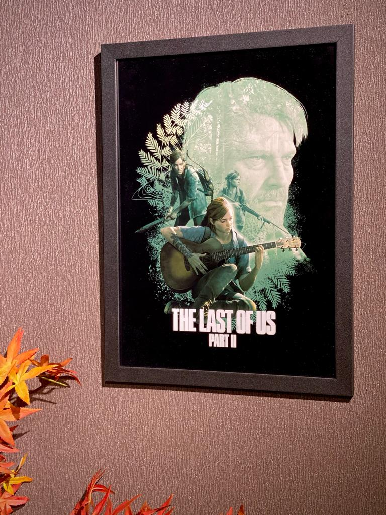 Quadro Com Moldura The Last Of Us (Part II) - 46x33