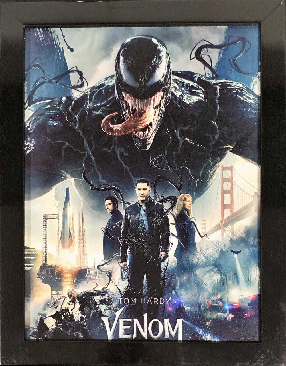 Quadro com Moldura: Venom - EV