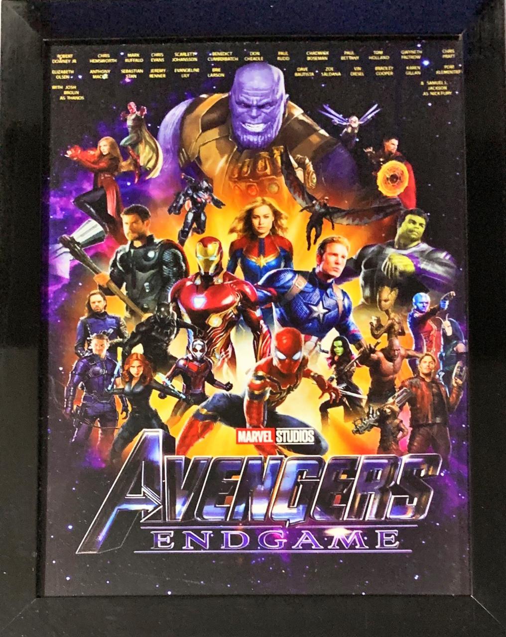 Quadro com Moldura Vingadores (Avengers): Ultimato (Endgame)