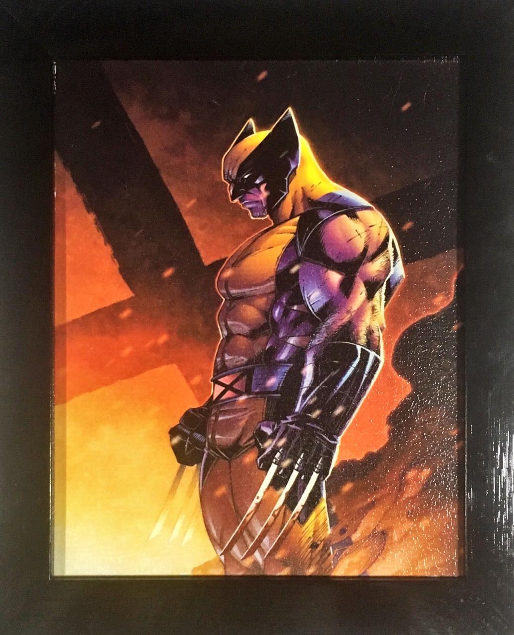 Quadro com Moldura: Wolverine (Garras) - Marvel Comics - 24x29
