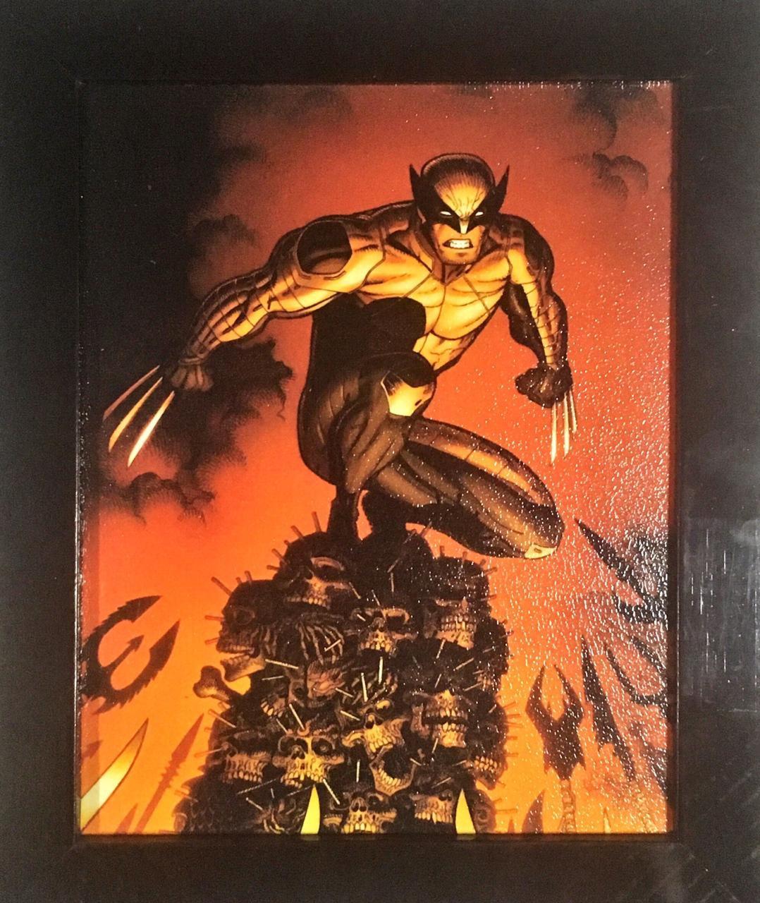 Quadro com Moldura: Wolverine: Marvel Comics - (24x29)