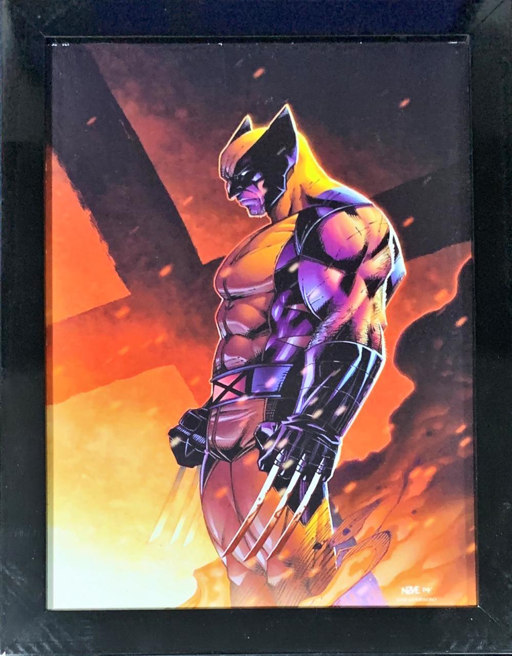 Quadro com Moldura Wolverine: X-Man
