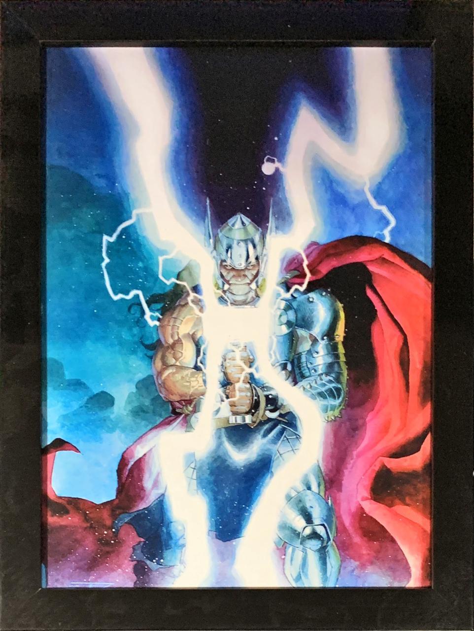 Quadro com MolduraThor: Marvel Comics