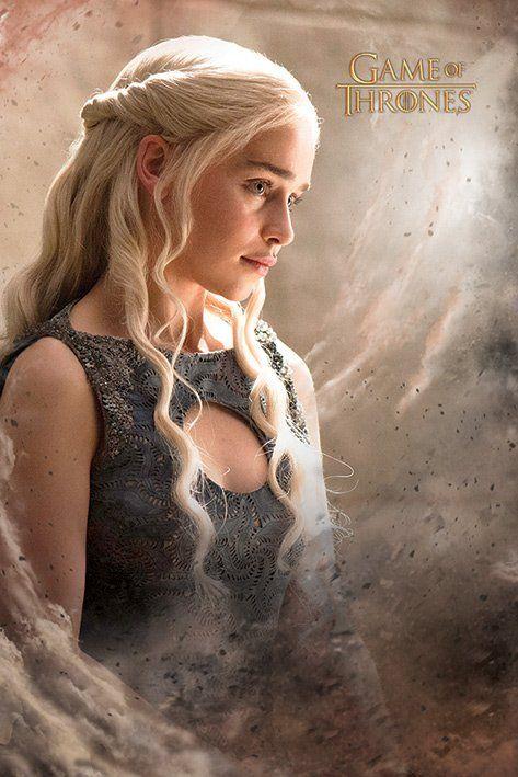 Quadro Daenerys: Game of Thrones - Wall Street Pos