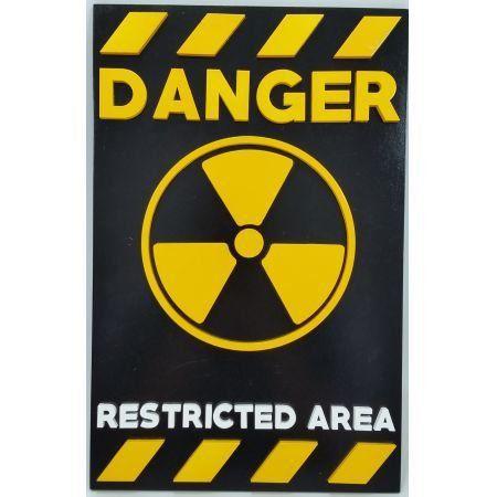 Quadro Danger - Geton