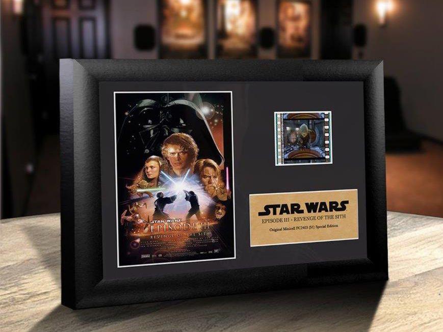 Quadro Decorativo (Com Película): Star Wars - A Vingança dos Sith (Revenge of the Sith) - 17x12 (Apenas Venda Online)