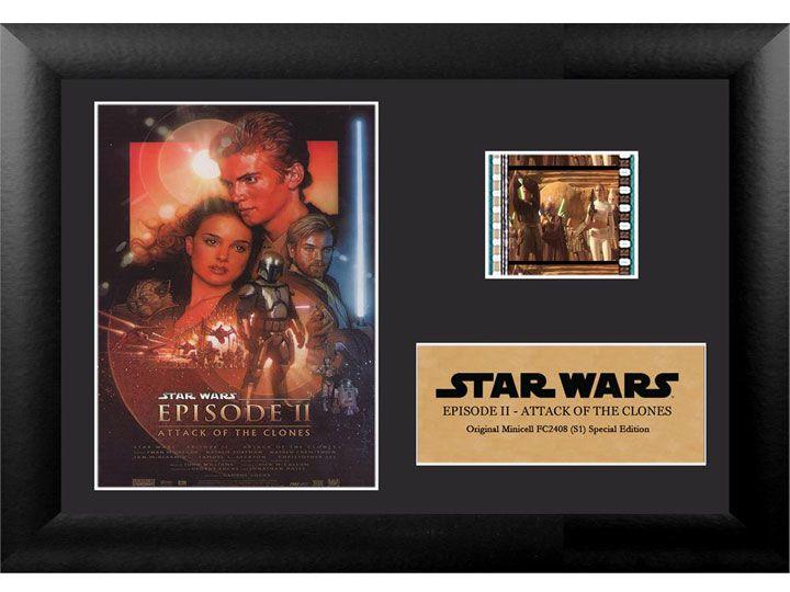 Quadro Decorativo (Com Película): Star Wars - Ataque dos Clones (Attack of the Clones) - 17x12 (Apenas Venda Online)