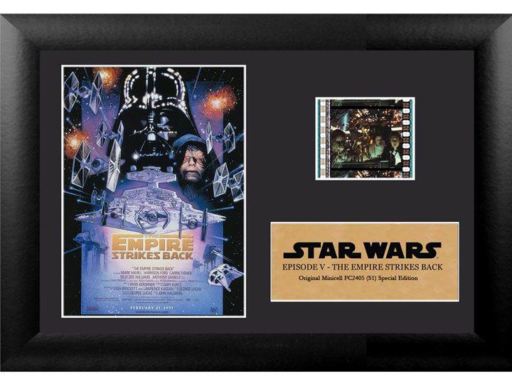 Quadro Decorativo (Com Película): Star Wars - O Império Contra-Ataca (The Empire Strikes Back) - 17x12 (Apenas Venda Online)