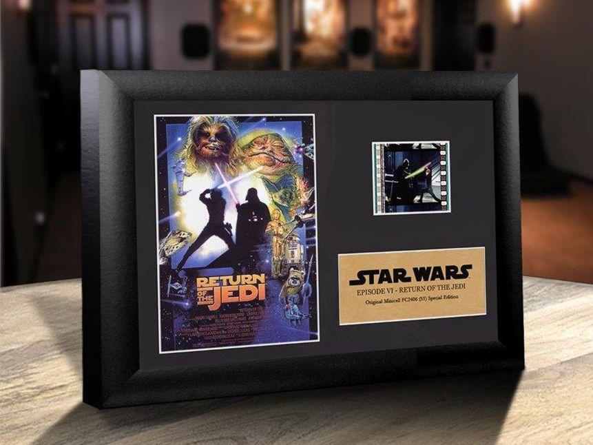 Quadro Decorativo (Com Película): Star Wars - O Retorno de Jedi (Return of the Jedi) - 17x12 (Apenas Venda Online)