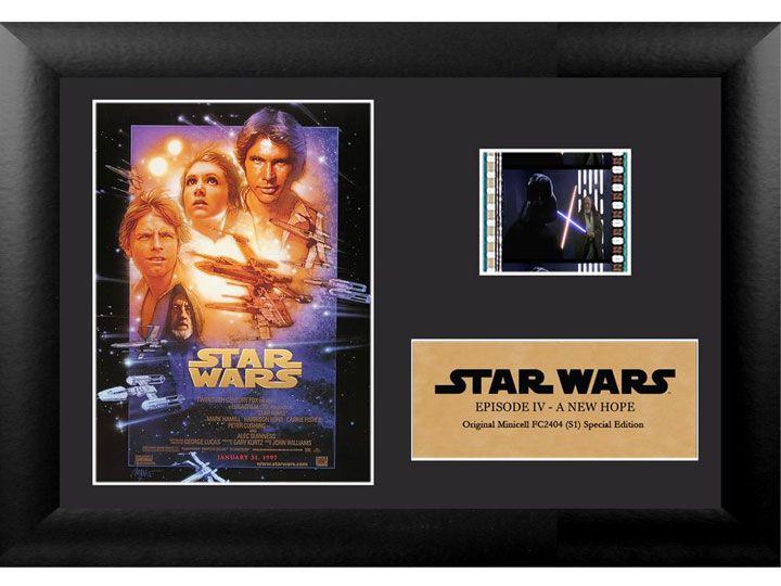 Quadro Decorativo (Com Película): Star Wars - Uma Nova Esperança (A New Hope) - 17x12 (Apenas Venda Online)
