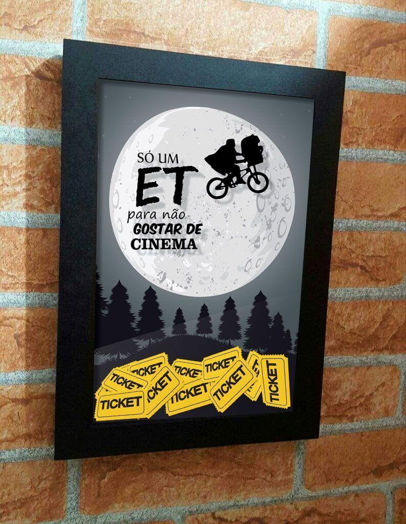 Quadro Et Porta Ingressos de Cinema