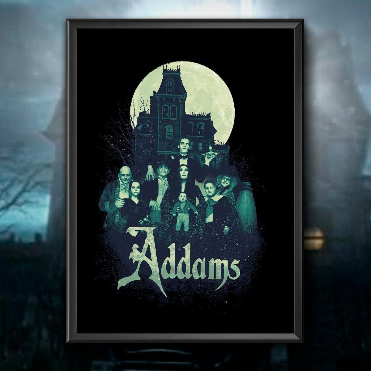 Quadro Família Addams